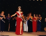 First walk as the new Ms America.